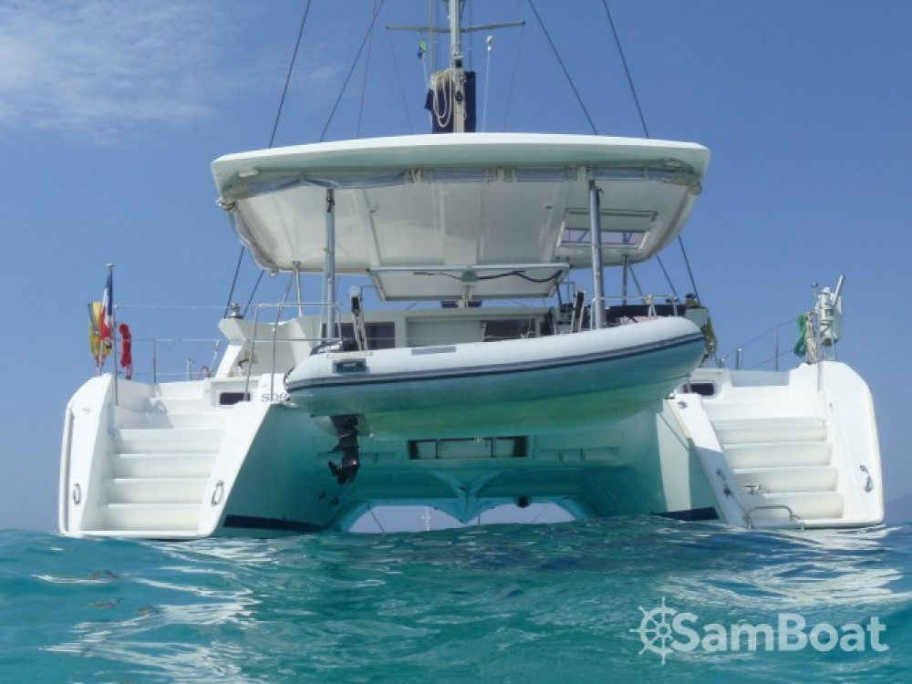Lagoon Lagoon 420 between personal and professional Port Grimaud