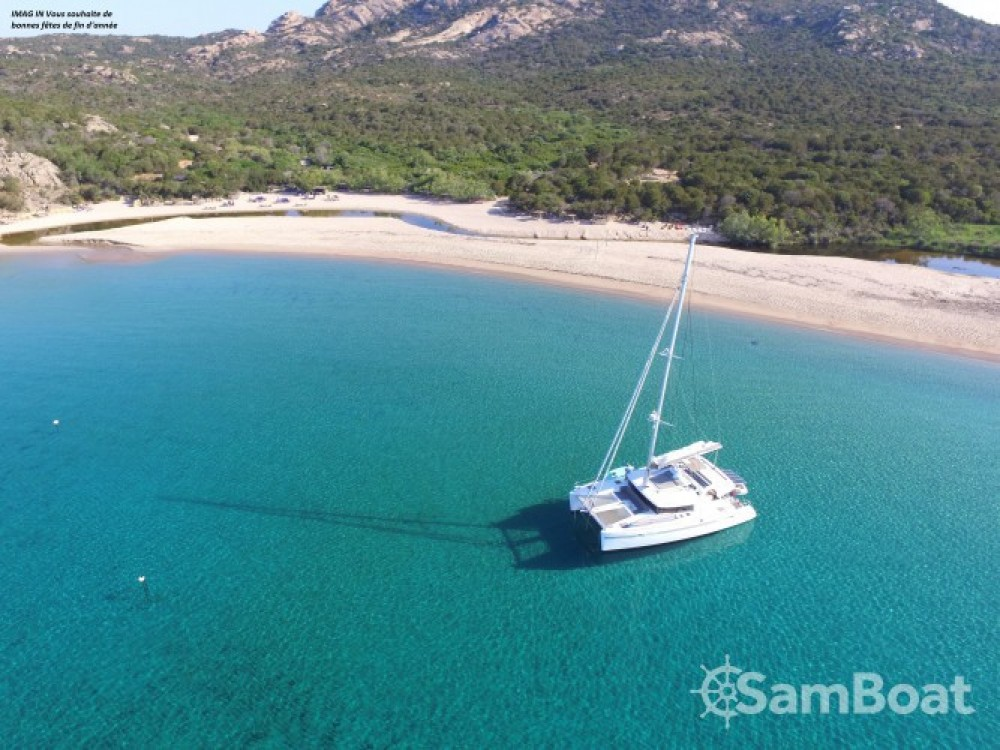 Catamaran for rent Porto-Vecchio at the best price