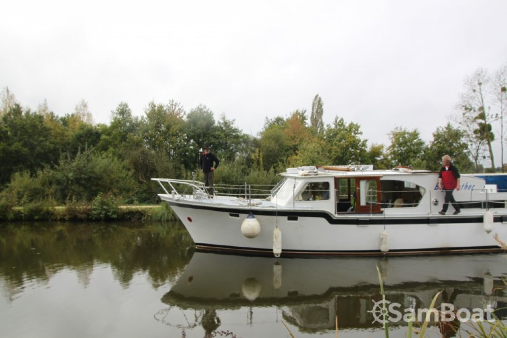 Rental Canal boat Kompier with a permit