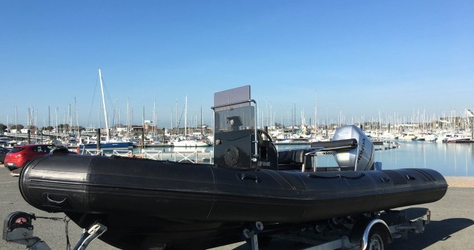 Hire RIB with or without skipper Neuvisa La Rochelle