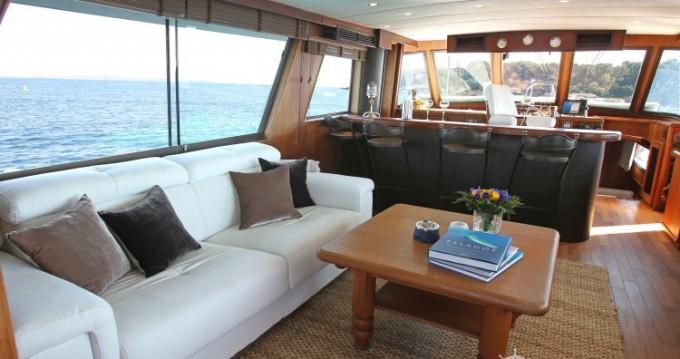 Rental Yacht in Antibes - Hatteras M/Y 56'