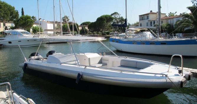 Hire Motorboat with or without skipper Ivela Port Grimaud