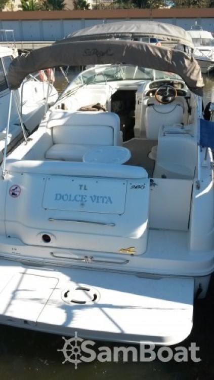 Rent a Sea Ray Sea Ray 260 Sundancer Mandelieu-la-Napoule