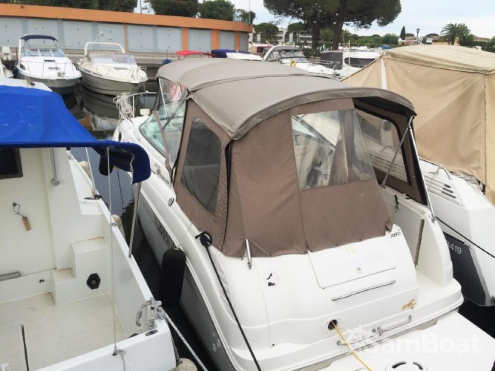 Rental Motorboat in Mandelieu-la-Napoule - Sea Ray Sea Ray 260 Sundancer