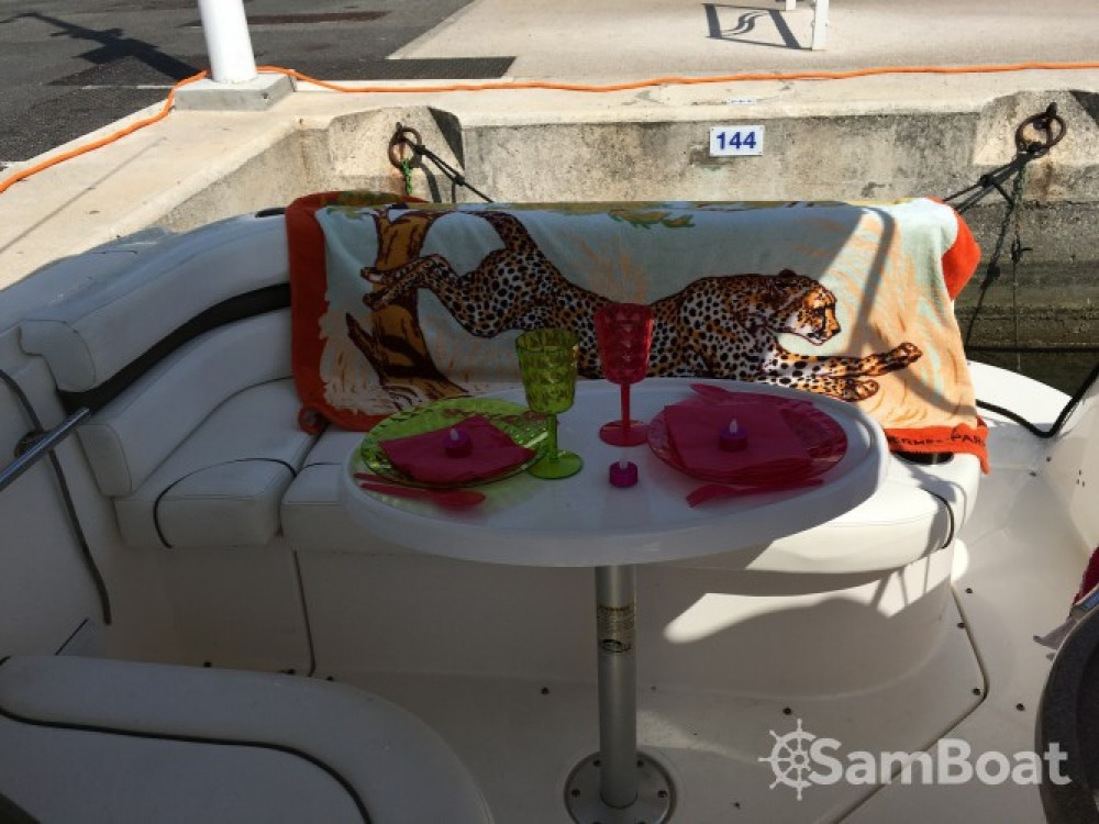Hire Motor boat with or without skipper Rinker Cannes