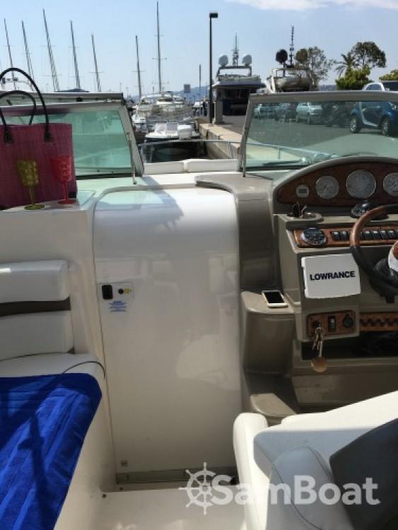 Rental Motor boat in Cannes - Rinker 260 EC