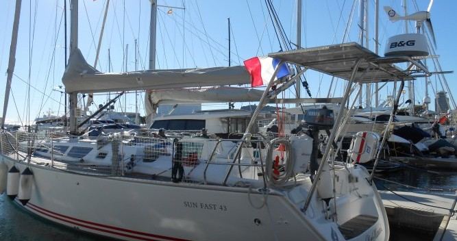 Rental yacht Bandol - Jeanneau Sun Fast 43 on SamBoat