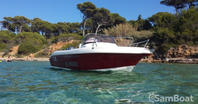 Hire Motorboat with or without skipper Pacific Craft Hyères