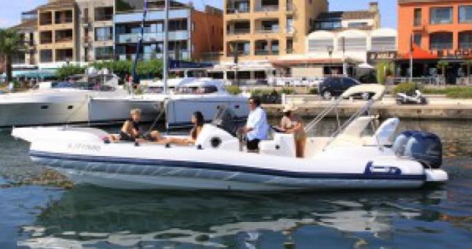 Hire RIB with or without skipper Marlin Boat Porto-Vecchio