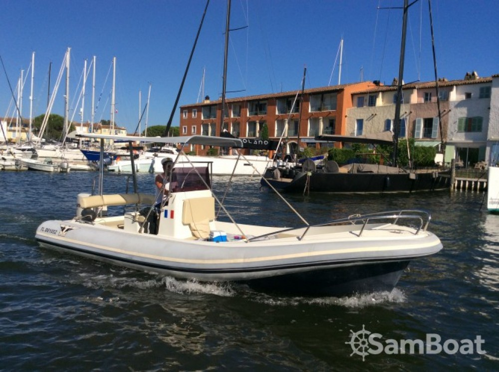 Boat rental Grimaud cheap Katoy 650