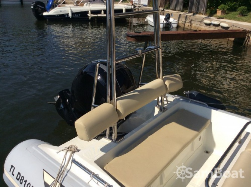 Hire RIB with or without skipper Katoy Grimaud