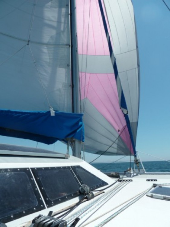 Fountaine Pajot Louisiane between personal and professional Rivedoux-Plage