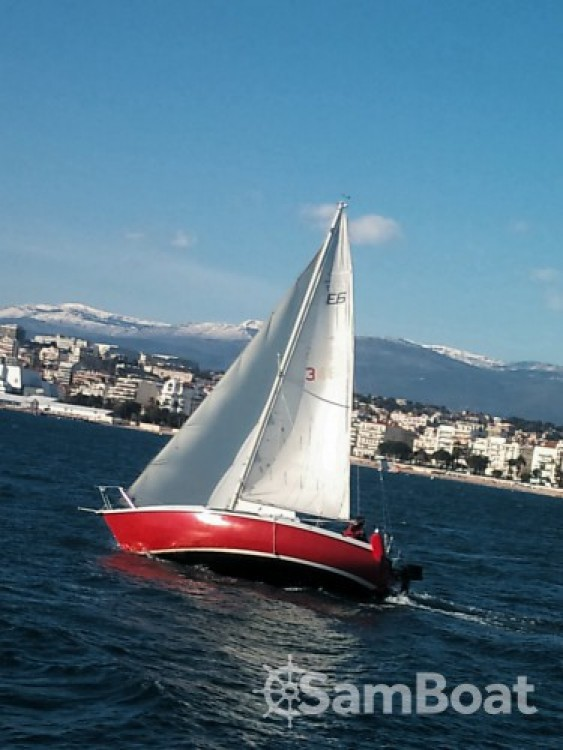 Rental Sailboat Edel with a permit