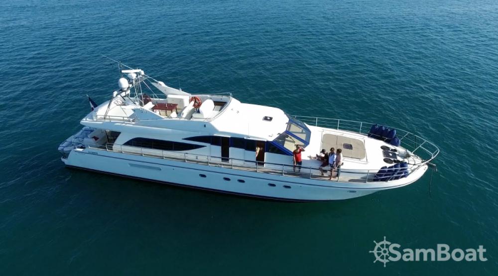 Boat rental Saint-Tropez cheap Guy Couach 2100
