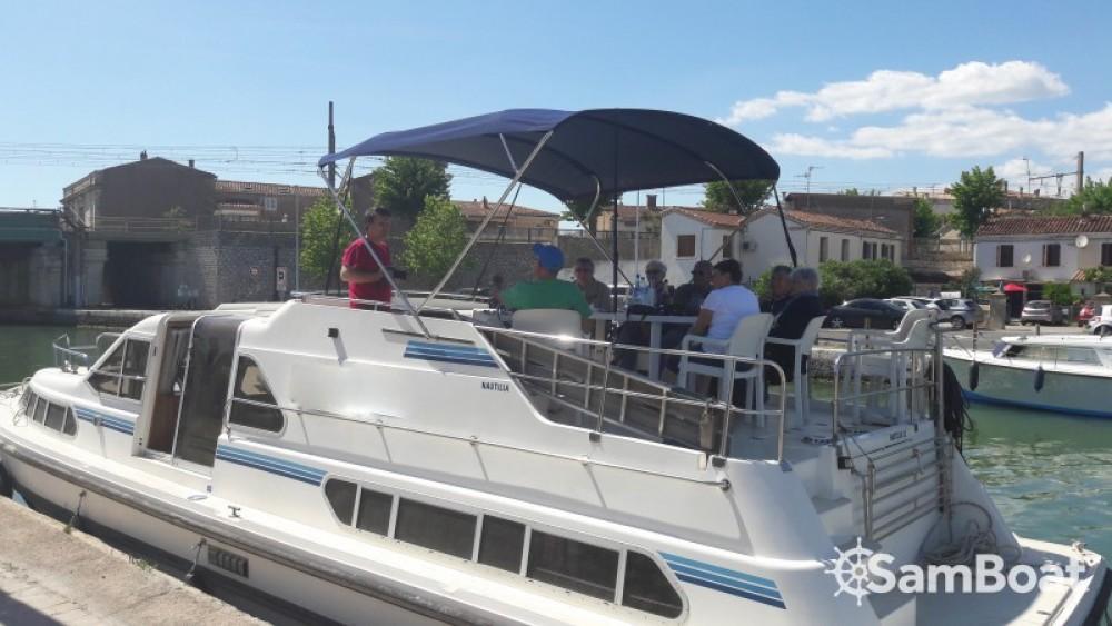 Boat rental Sète cheap Nautilia