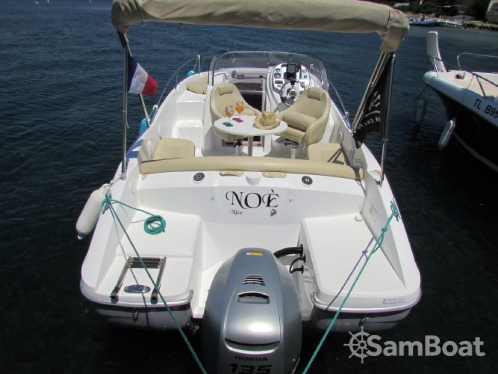 Boat rental Cannes cheap Flyer 650 Sun Deck