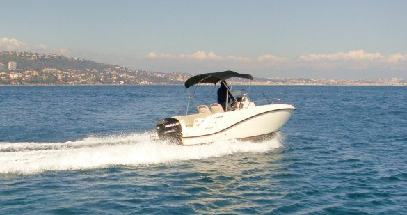 Hire Motorboat with or without skipper Quicksilver Antibes