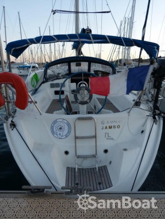 Jeanneau Sun Odyssey between personal and professional Toulon