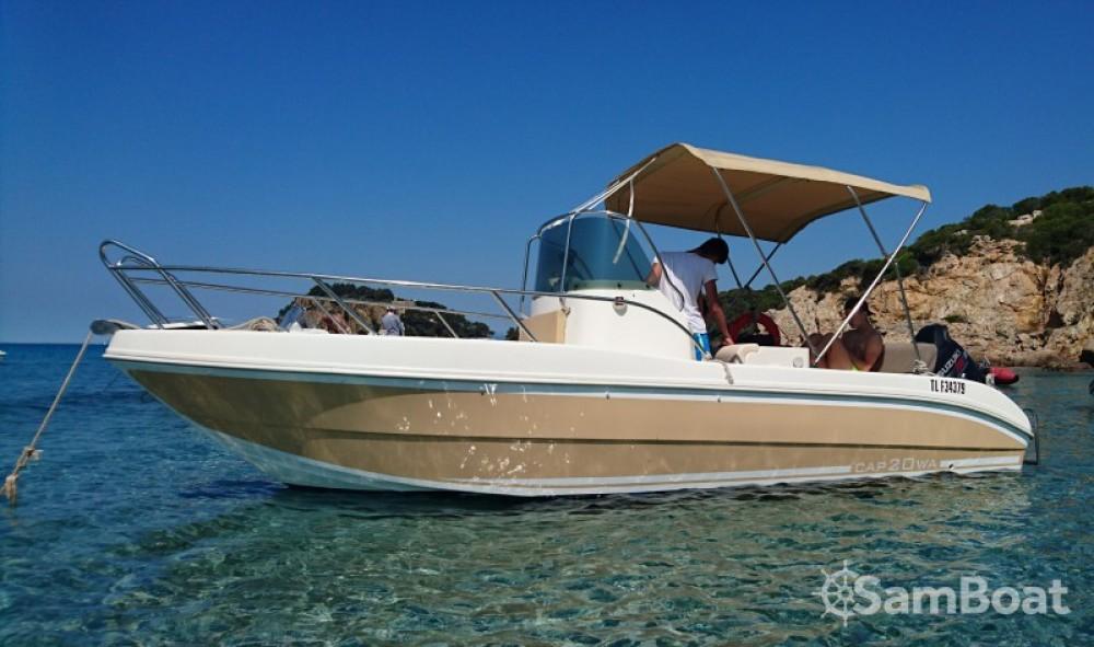 Boat rental  cheap Cap 20