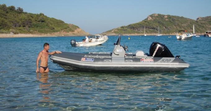 Rental RIB in Cannes - Narwhal HD 520