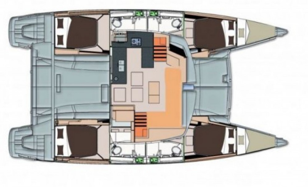 Hire Catamaran with or without skipper Fountaine Pajot Mandelieu-la-Napoule