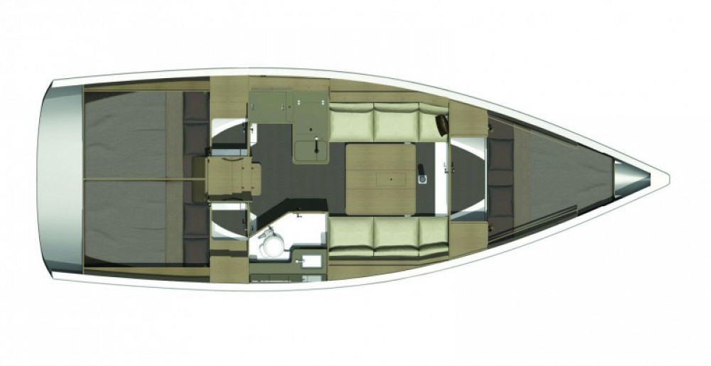 Boat rental  cheap Dufour 350 Grand Large