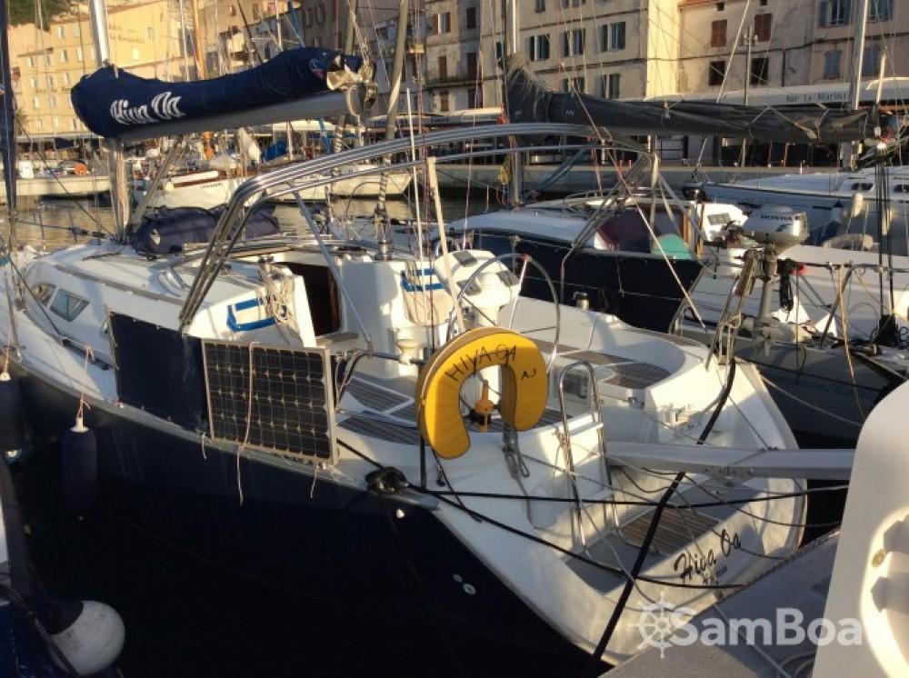 Jeanneau Sun Odyssey 37 between personal and professional Bonifacio