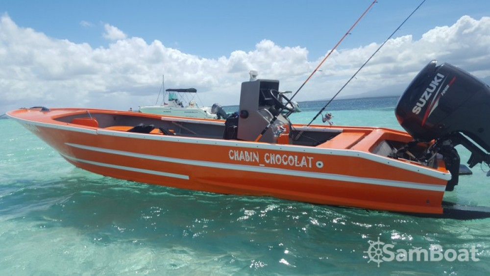 Rental Motorboat Sahati with a permit