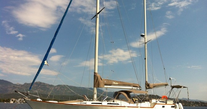 Rental Sailboat in Porto-Vecchio - Alpha-Yatch CLIPPER 40