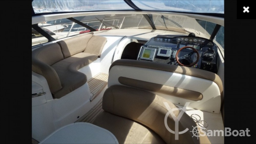 Hire Motorboat with or without skipper Princess Mandelieu-la-Napoule