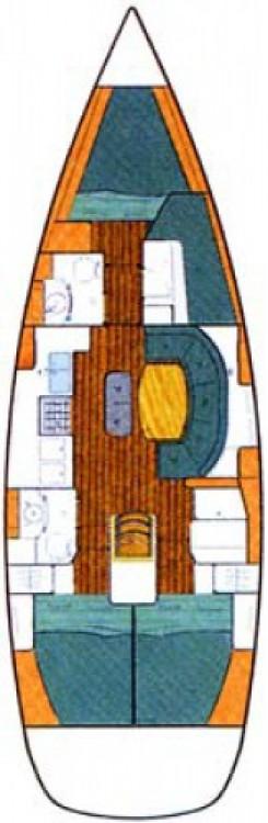 Boat rental Bénéteau Oceanis 411 Celebration in Carloforte on Samboat