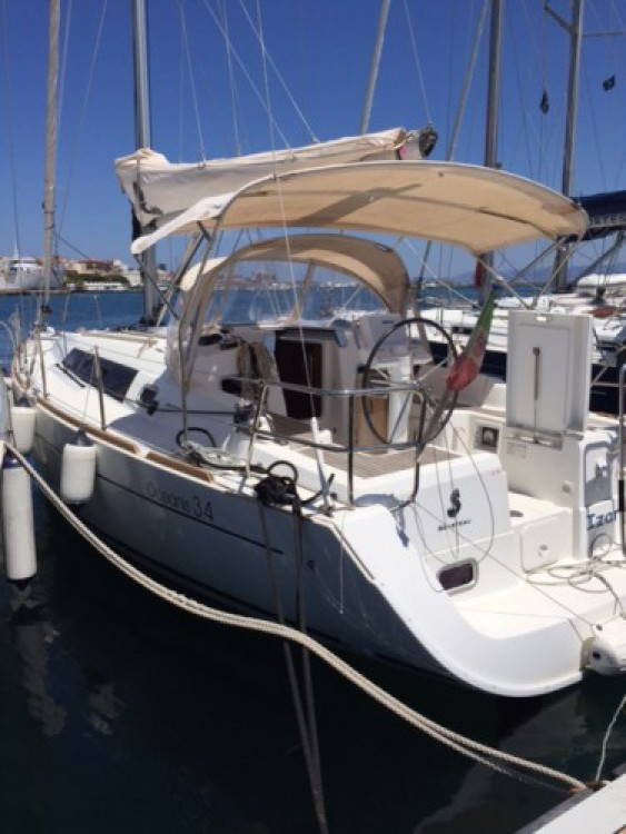 Bénéteau Oceanis 34 between personal and professional Cagliari