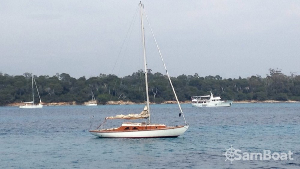 Hire Sailboat with or without skipper Eugene-Cornu Antibes