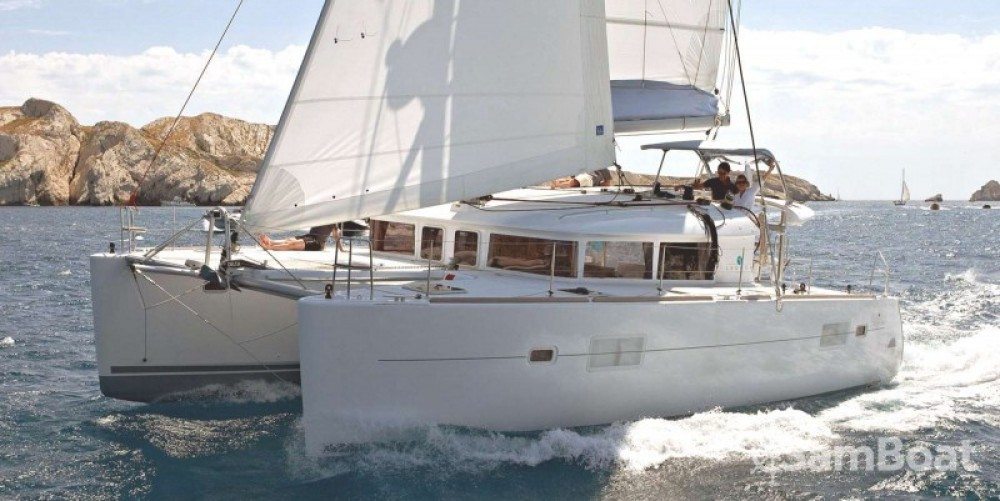 Hire Catamaran with or without skipper Lagoon Vallauris