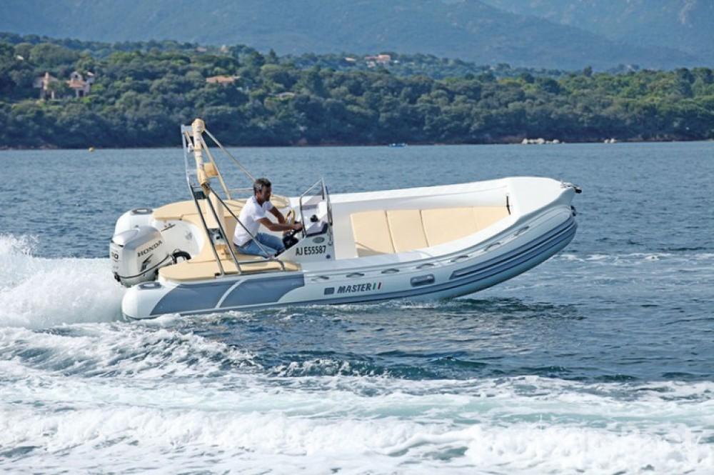 Hire RIB with or without skipper Master-Gomoni Porto-Vecchio