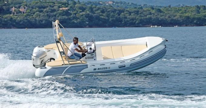 Boat rental Master 540 in Porto-Vecchio on Samboat