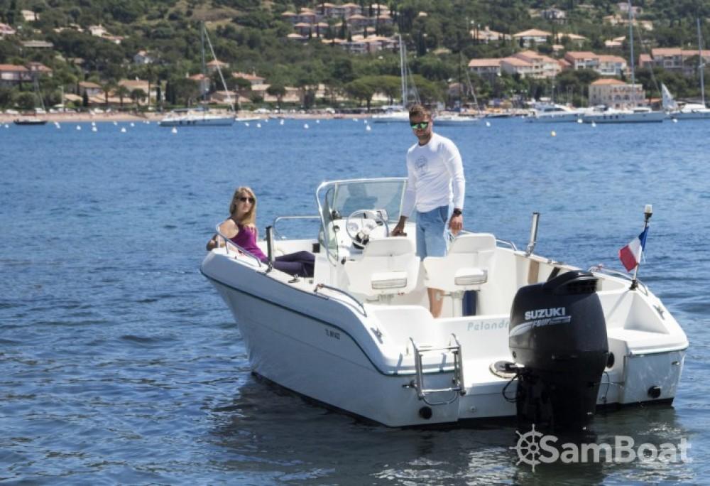 Boat rental  cheap Cap Camarat 615