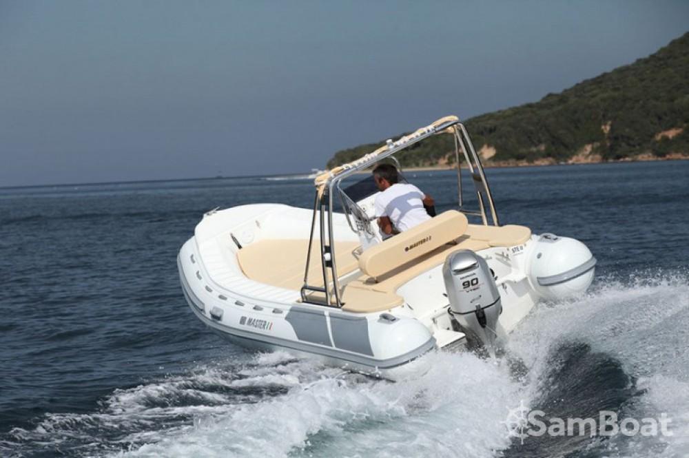 Rental yacht Porto-Vecchio - Master-Gomoni 540 on SamBoat