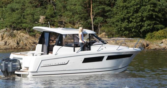 Boat rental Mandelieu-la-Napoule cheap Merry Fisher 855