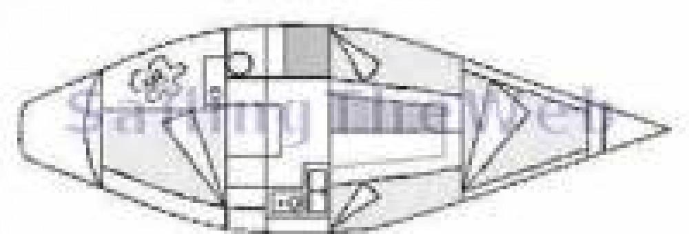 Rental Sailboat Constructions-Nautiques-De-L-Artimon with a permit