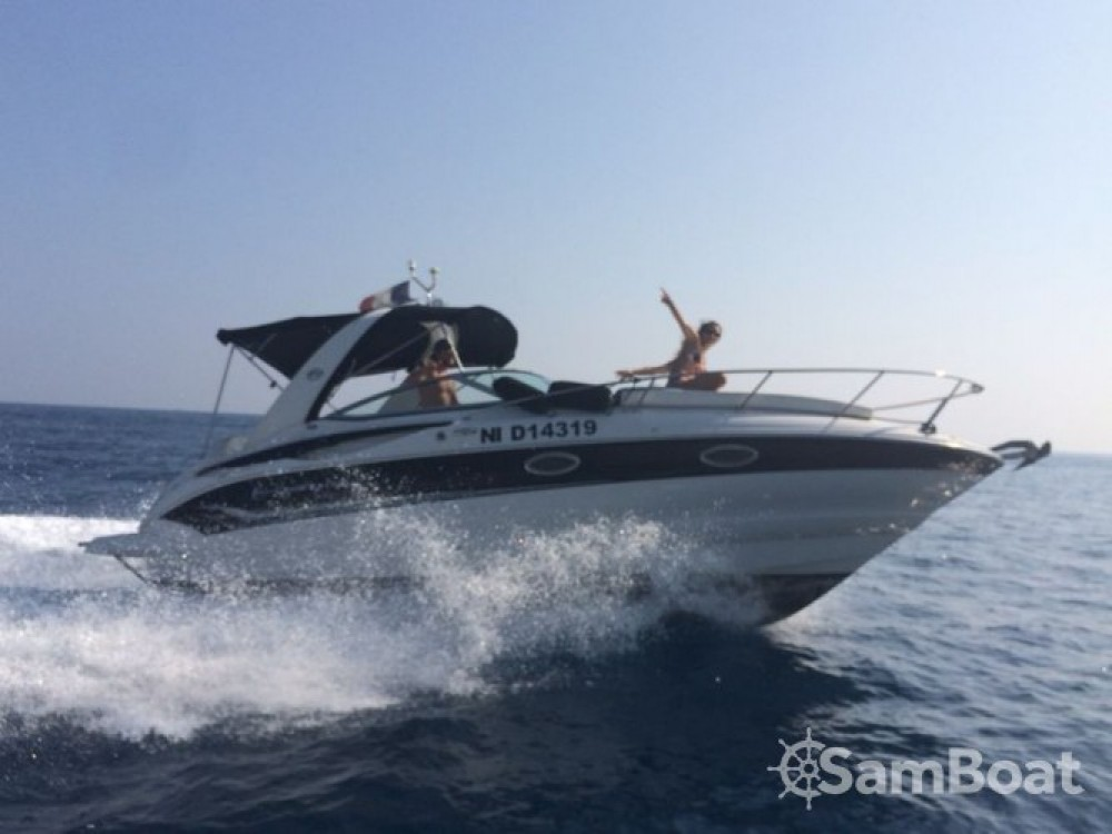Rental Motorboat Crownline with a permit