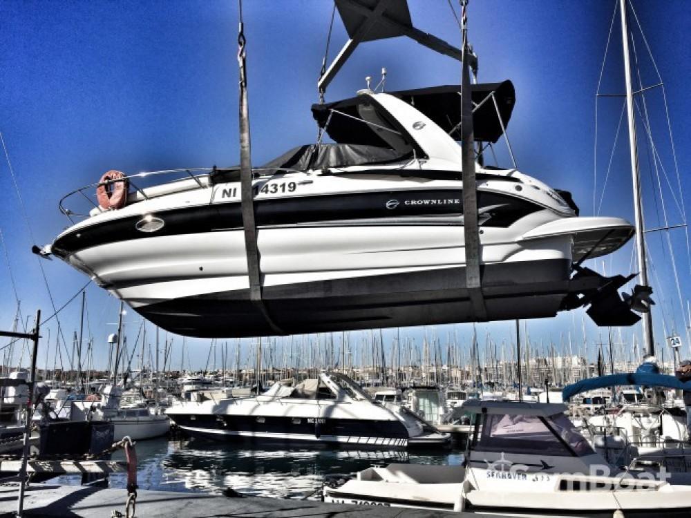 Rental Motorboat in Antibes - Crownline Crownline 250 CR