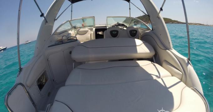 Boat rental Antibes cheap Crownline 250 CR