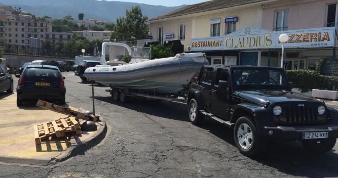 Rental RIB in Bastia - Capelli Tempest 750