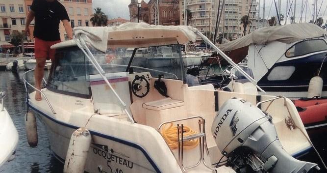 Rental Motorboat in Saint-Raphaël - Ocqueteau Alienor 540