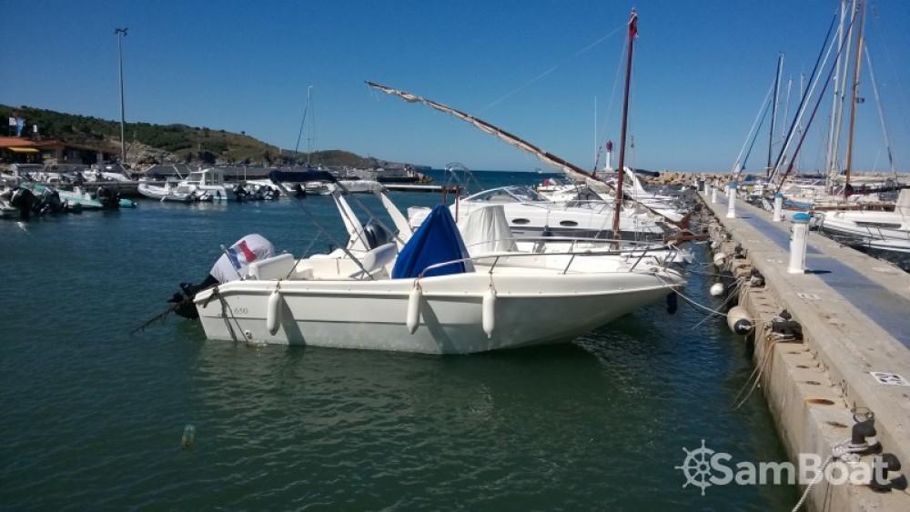 Boat rental Banyuls-sur-Mer cheap Open 650