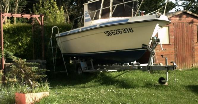Boat rental Guymarine CHALUTIER GM 5.70 in Saint-Quay-Portrieux on Samboat