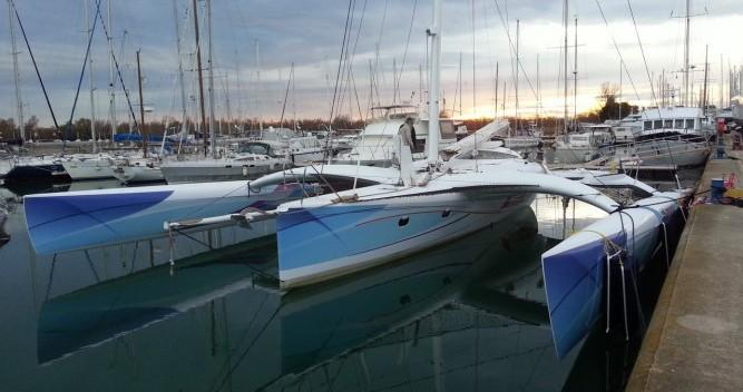 Rental Catamaran in Port-Saint-Louis-du-Rhône - Chantier-Mer-Et-Composites TRIMARAN PULSAR 60