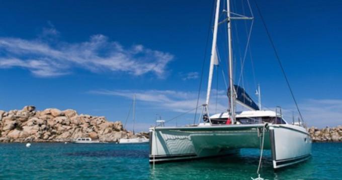 Boat rental Figari cheap Nautitech 40