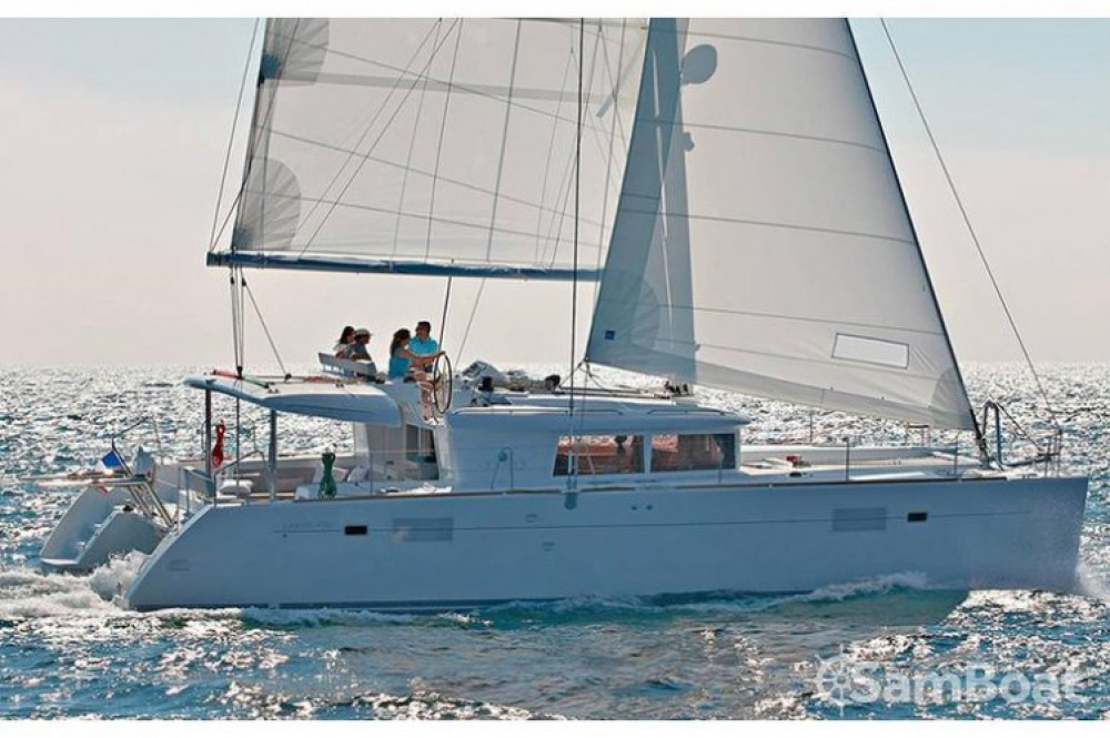 Lagoon Lagoon 450 between personal and professional Croatie